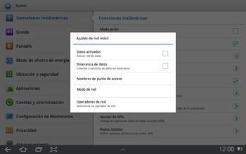 Samsung P7500 Galaxy Tab 10-1 - Internet - Configurar Internet - Paso 5