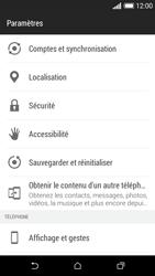 HTC Desire 610 - Aller plus loin - Restaurer les paramètres d'usines - Étape 4