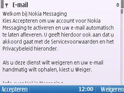 Nokia E5-00 - E-mail - handmatig instellen - Stap 13