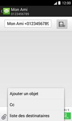Bouygues Telecom Bs 403 - Contact, Appels, SMS/MMS - Envoyer un MMS - Étape 9