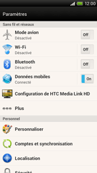 HTC S728e One X Plus - MMS - configuration manuelle - Étape 5