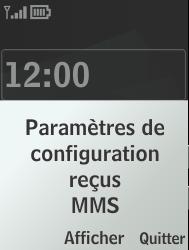 Nokia 301-1 - MMS - Configuration automatique - Étape 3