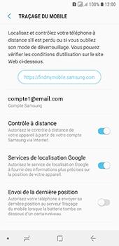 Samsung Galaxy A6 - Appareil - configurer Localiser mon appareil - Étape 9