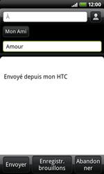 HTC A7272 Desire Z - E-mail - envoyer un e-mail - Étape 5