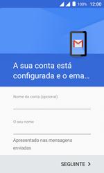 Alcatel Pixi 4 - Email - Como configurar seu celular para receber e enviar e-mails - Etapa 13