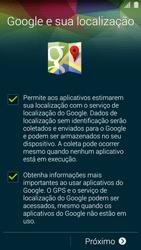Samsung G900F Galaxy S5 - Primeiros passos - Como ativar seu aparelho - Etapa 12
