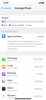 Apple iPhone XS - iOS 12 - Applications - Supprimer une application - Étape 5