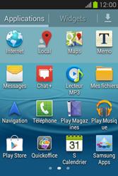 Samsung S6810P Galaxy Fame - Messagerie vocale - configuration manuelle - Étape 4