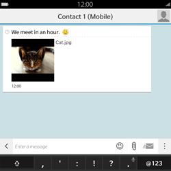 BlackBerry Passport - Mms - Sending a picture message - Step 14