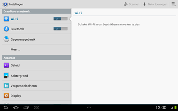 Samsung P5100 Galaxy Tab 2 10-1 - Buitenland - Bellen, sms en internet - Stap 5