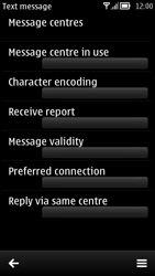 Nokia 700 - SMS - Manual configuration - Step 10