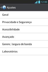 LG E612 Optimus L5 - Internet (APN) - Como configurar a internet do seu aparelho (APN Nextel) - Etapa 22