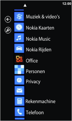 Nokia Lumia 800 - E-mail - E-mail versturen - Stap 3