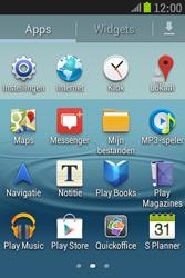 Samsung S6310 Galaxy Young - Wifi - handmatig instellen - Stap 2
