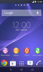 Sony D2005 Xperia E1 - MMS - envoi d'images - Étape 1