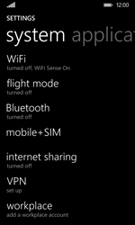 Nokia Lumia 530 - Network - Usage across the border - Step 4