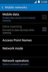 Samsung Galaxy Young 2 - Internet - Enable or disable - Step 8