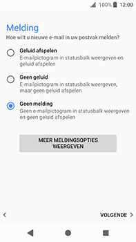 Sony Xperia XA2 Ultra - E-mail - handmatig instellen (yahoo) - Stap 11