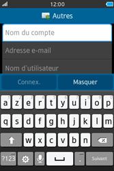 Samsung Wave M - E-mails - Ajouter ou modifier un compte e-mail - Étape 6