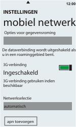HTC C110e Radar - Buitenland - Bellen, sms en internet - Stap 6