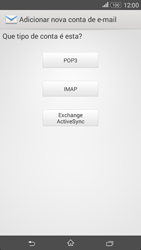 Sony Xperia E4 - Email - Configurar a conta de Email -  8