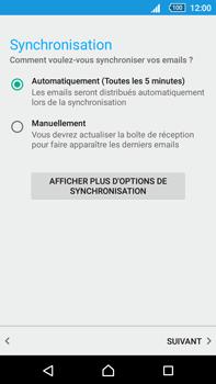 Sony Xperia Z5 Premium (E6853) - E-mail - Configuration manuelle - Étape 17