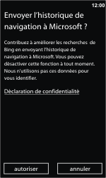 Nokia Lumia 710 - Internet - navigation sur Internet - Étape 3