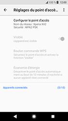 Sony Xperia XA2 - Internet et connexion - Partager votre connexion en Wi-Fi - Étape 7