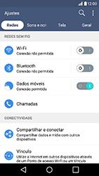 LG K10 - Rede móvel - Como ativar e desativar uma rede de dados - Etapa 4
