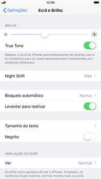 Apple iPhone 8 Plus - Segurança - Bloqueio automático do ecrã -  4