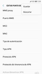 Samsung Galaxy S6 - Android Nougat - Mensajería - Configurar el equipo para mensajes multimedia - Paso 15