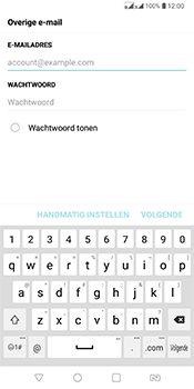 LG Q7 - E-mail - Handmatig Instellen - Stap 7