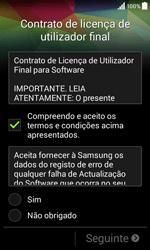 Samsung Galaxy Core II - Primeiros passos - Como ligar o telemóvel pela primeira vez -  8