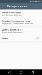 Sony Xperia X Compact - Messagerie vocale - configuration manuelle - Étape 7