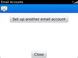 BlackBerry 9360 Curve - Email - Manual configuration - Step 13