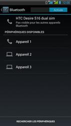 HTC Desire 516 - Bluetooth - Jumeler avec un appareil - Étape 6