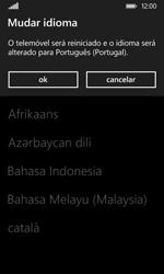 Nokia Lumia 530 - Primeiros passos - Como ligar o telemóvel pela primeira vez -  6