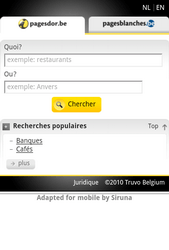 Nokia Lumia 900 - Internet - Sites web les plus populaires - Étape 15