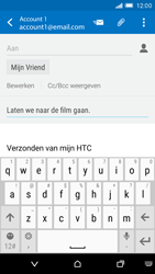 HTC One M9 - E-mail - hoe te versturen - Stap 9