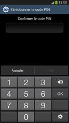 Samsung Galaxy S4 - Sécuriser votre mobile - Activer le code de verrouillage - Étape 10