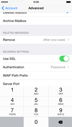 Apple iPhone 6 - E-mail - Manual configuration - Step 27
