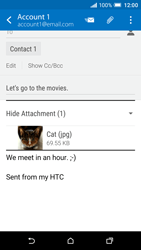 HTC One A9 - Email - Sending an email message - Step 18