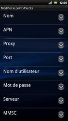 Sony Ericsson Xperia Play - Mms - Configuration manuelle - Étape 8