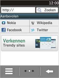 Nokia C2-03 - Internet - hoe te internetten - Stap 3