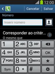 Samsung S5310B Galaxy Pocket Neo - Chamadas - Como bloquear chamadas de um número específico - Etapa 9