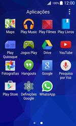 Samsung Galaxy Trend 2 Lite - Aplicações - Como configurar o WhatsApp -  4