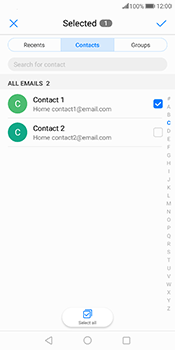 Huawei Mate 10 Pro - Email - Sending an email message - Step 6
