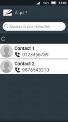 Doro 8031 - Contact, Appels, SMS/MMS - Envoyer un MMS - Étape 7