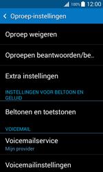 Samsung Galaxy Trend 2 Lite (SM-G318H) - Voicemail - Handmatig instellen - Stap 5