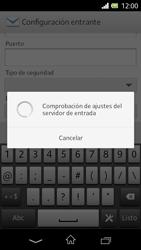 Sony Xperia L - E-mail - Configurar correo electrónico - Paso 11